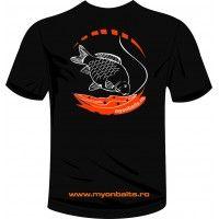 Tricou negru Myon Baits